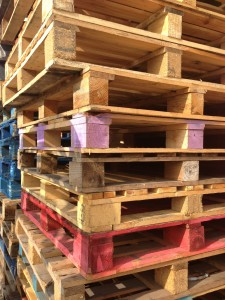 Pallet Storage - Empty Pallets 01