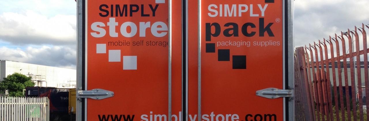 Mobile Self Storage Trailer